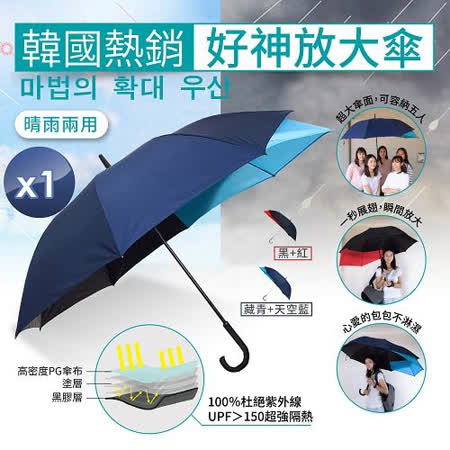 m.s嚴選 韓國熱銷好神放大傘 1入組