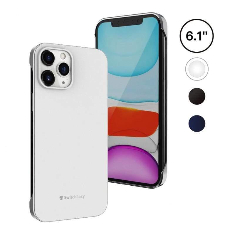 NUDE 系列 for iPhone12 mini/Pro/Pro Max 電鍍邊框手機保護殼 - 星砂白 6.7吋 iPhone 12 Pro Max
