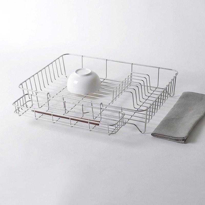 大木金屬 Outline 日製究極鏤線18-8不鏽鋼加大型瀝水籃