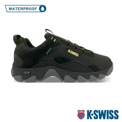 K-SWISS Cali Trail WP戶外運動防水鞋-男-黑