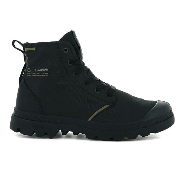 PALLADIUM PAMPA LITE+ RECYCLE WP+ 男鞋 男女款 黑色 防水 輕量 雨鞋 環保 高筒靴 76656001