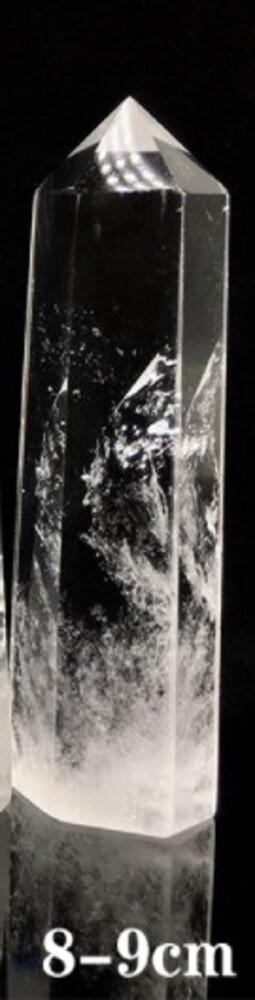 天然白水晶柱
