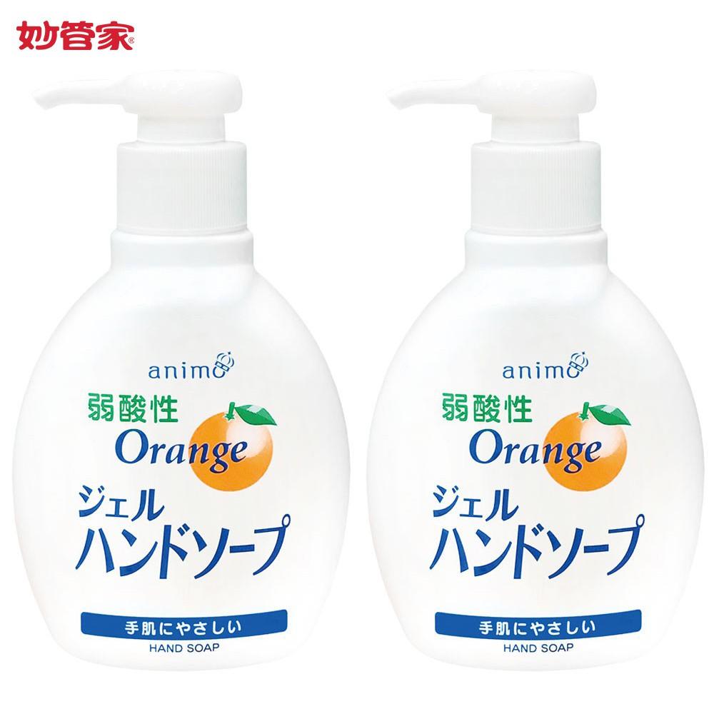 【日本animo】橘香洗手液200ml(2瓶)