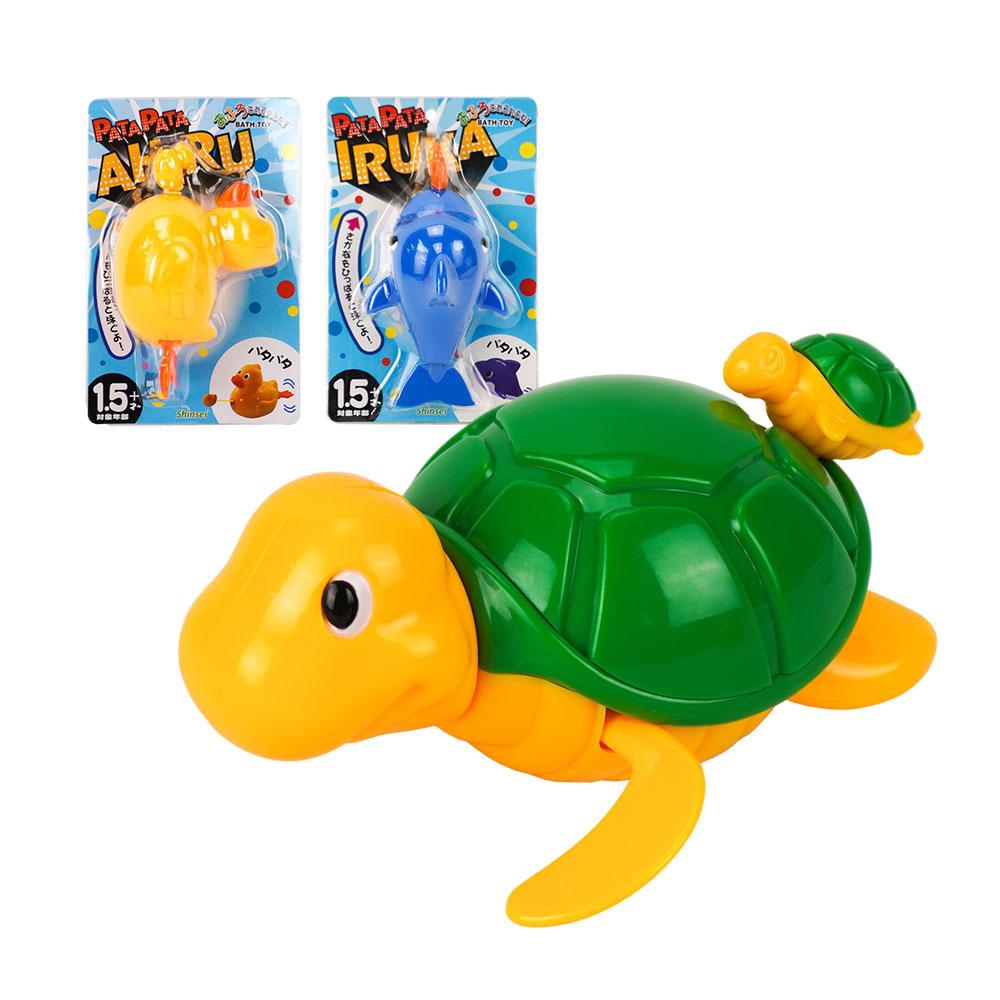 拉線可愛動物洗澡玩具(ST)
