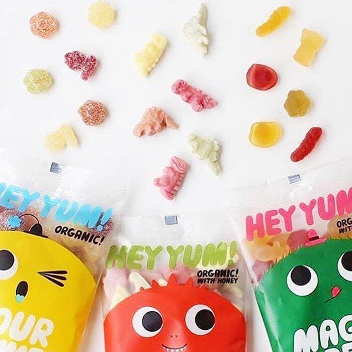 【PALIER】HEY YUM!丹麥無麩質水果軟糖(50g)-四入組