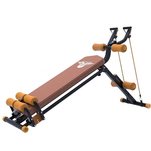 仰臥起坐健身器材家用卷腹機腹肌仰臥板腰力機虐腹神器懶人收腹機 NMS 1995生活雜貨