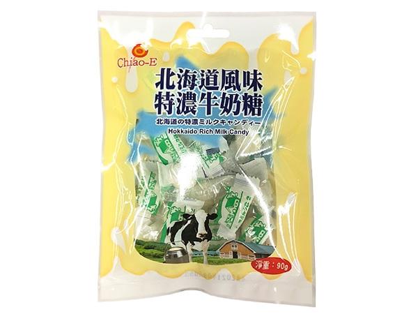 Chiao-E 巧益~北海道風味特濃牛奶糖(90g)【D153192】