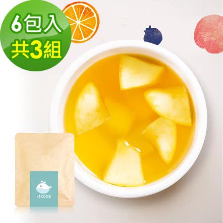 i3KOOS-花漾果香綠茶(可冷泡)-隨享包3組(6包入)