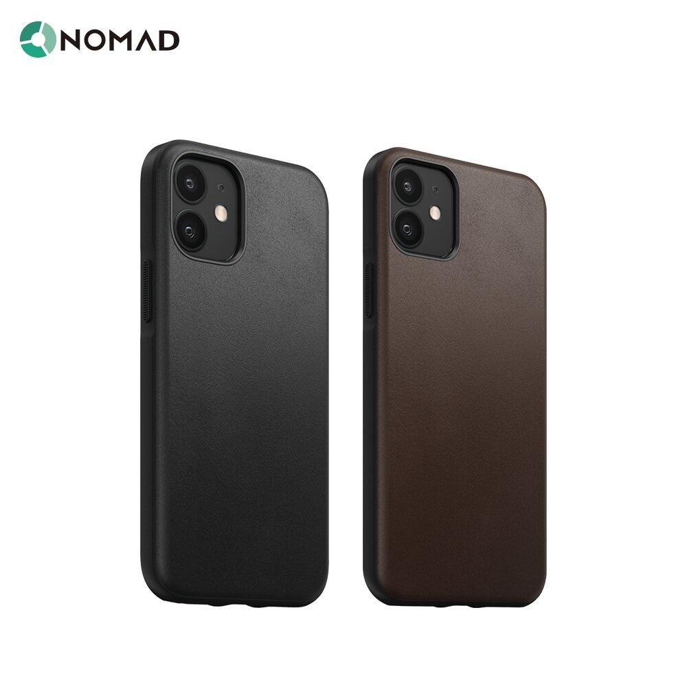 """美國NOMAD經典皮革防摔保護殼-iPhone 12 Mini (5.4"""")"""