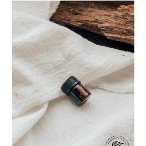 保證100%純天然 印尼達拉干100%蒸餾沉香油 1ml