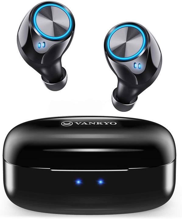 【日本代購】VANKYO X180 無線耳機 Bluetooth 5.0完全無線耳機 IPX7防水耳機 左右分離式 內置麥克風