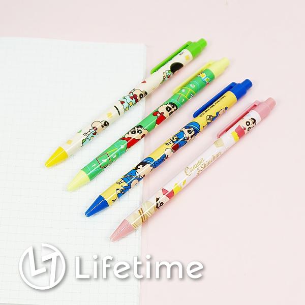 ﹝蠟筆小新自動鉛筆﹞正版 自動鉛筆 按壓式 鉛筆 自動筆 筆 文具〖LifeTime一生流行館〗