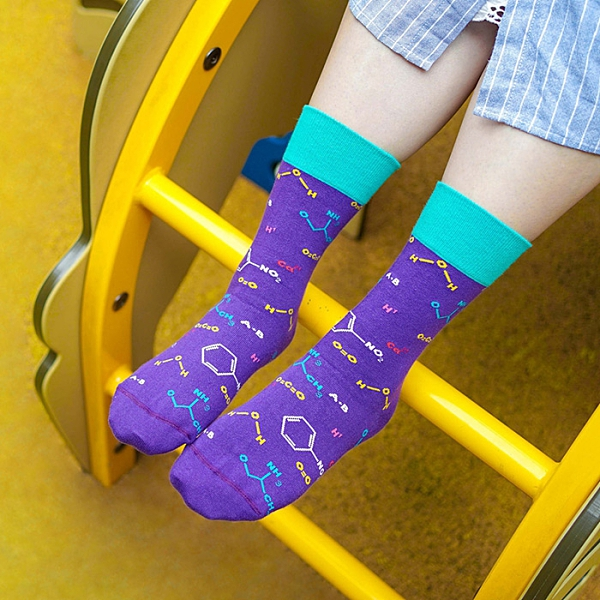 sokker® 化學公式4分之3襪 比漾廣場