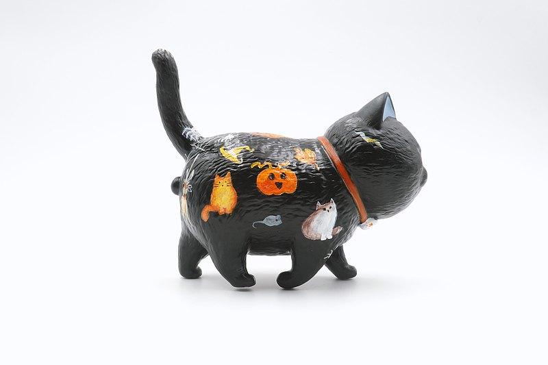 貓咪手繪公仔-萬聖貓