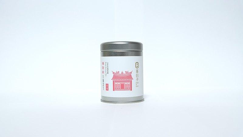 茶日子原創 Mini罐  城隍廟1821  愛情  玫瑰烏龍茶