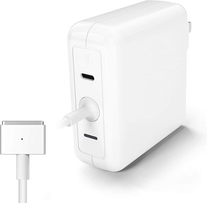 【日本代購】PSE CE FCC ROHS認證 Anikks Macbook Pro電源適配器60W MagSafe 2 T型充電器