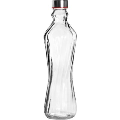 《IBILI》斜紋玻璃水瓶(1000ml)