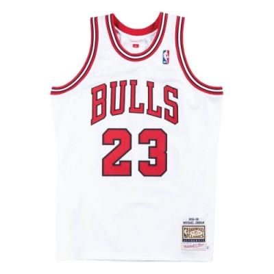 M&N Authentic球員版復古球衣 公牛隊 總冠軍 95-96 #23 Michael Jordan