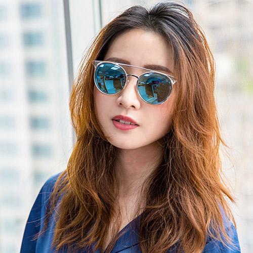 MK Michael Kors 藍綠色鏡片 閃銀太陽眼鏡 墨鏡 MK1030 113725 熱賣中!