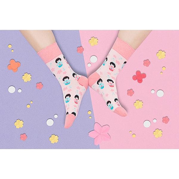 sokker® 和服娃娃4分之3襪 比漾廣場