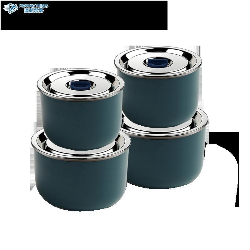 精工陶瓷保鮮盒帶蓋大容量微波爐加熱飯盒可帶湯上班便當盒保鮮碗