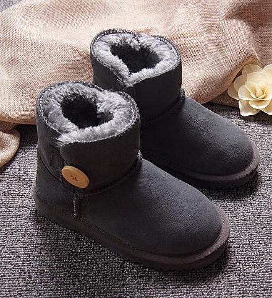 兒童靴子女冬季