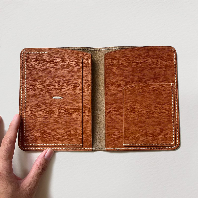 旅遊護照夾 護照套   秋栗棕 passport