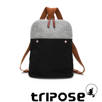 tripose 漫遊系列斜背後背包 潮感黑