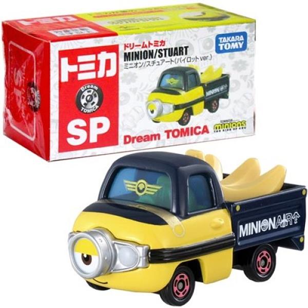《 TOMICA 》DT小小兵香蕉車 / JOYBUS玩具百貨