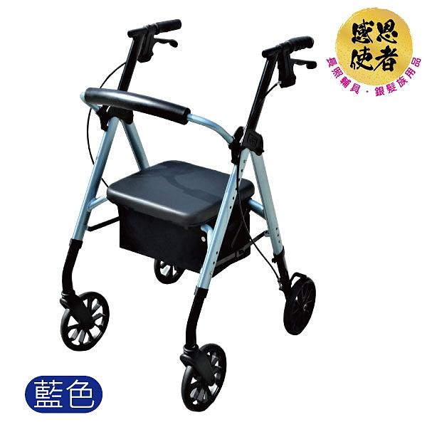 駛踏助步車 - 助行車-助行器-散步購物車,有手煞車,坐墊,可調整高度 [ZUVN2036]