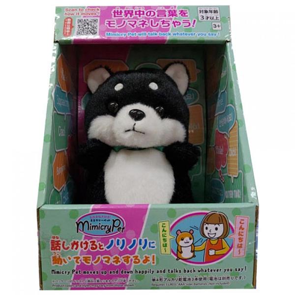 《 MimicryPet》迴聲寵物-黑柴犬 / JOYBUS玩具百貨