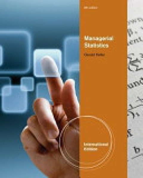 二手書博民逛書店 《Managerial Statistics》 R2Y ISBN:1111534632│South Western Educational Publishing