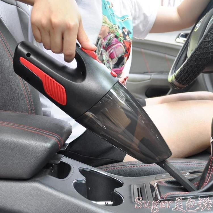 【快速出貨】車載吸塵器車用家車兩用無線充電汽車小型車內迷你強力大功率12V創時代3C 交換禮物 送禮