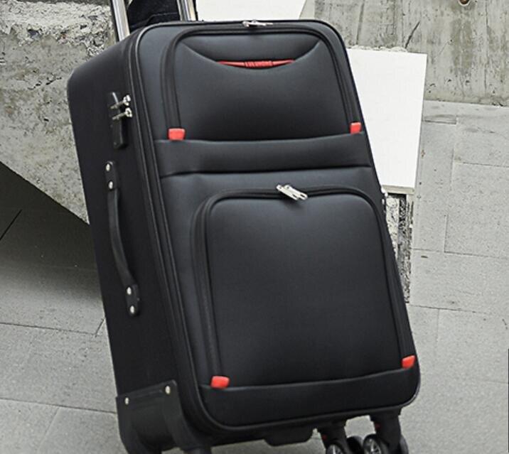 行李箱 牛津布行李箱女結實耐用加厚學生密碼旅行箱子大容量皮箱拉桿箱男