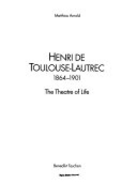二手書博民逛書店 《Toulouse-Lautrec》 R2Y ISBN:3822896411│Taschen