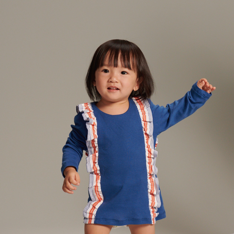 舞動荷葉洋裝【baby baby cool】