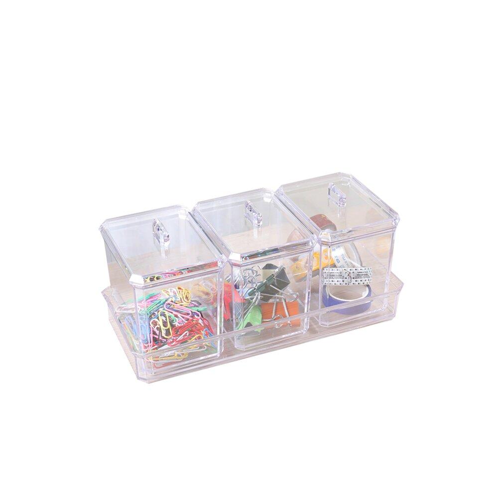 《真心良品》巧麗多用途置物盒-2入組