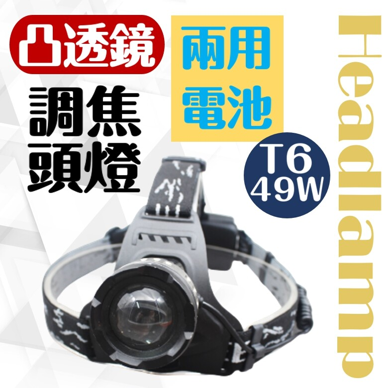 cree t6 led凸透鏡伸縮頭燈 cy-lr6307 頭燈 照明設備 led 伸縮調焦 戶外