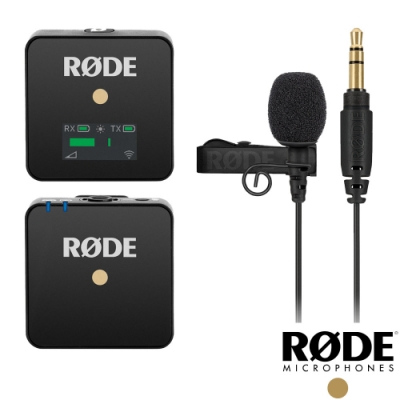 【RODE】Wireless GO+Lavalier Go 無線麥克風套組