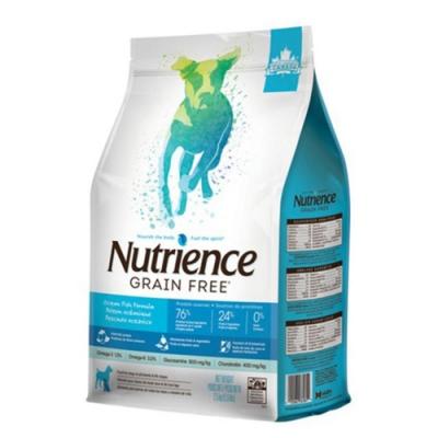 Nutrience紐崔斯GRAIN FREE無穀養生犬-六種魚(深海鱈魚&漢方草本) 2.5kg(5.5lbs) (NT-F6181)