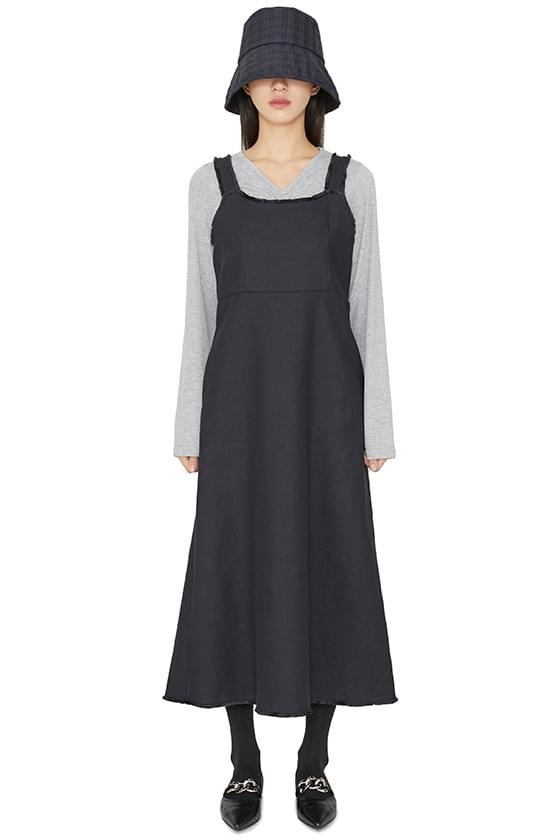韓國空運 - Bonnet tassel maxi dress 長洋裝