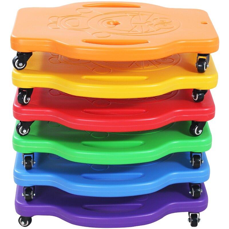 兒童感統訓練器材滑板車健身平衡板幼兒早教 雙11狂歡
