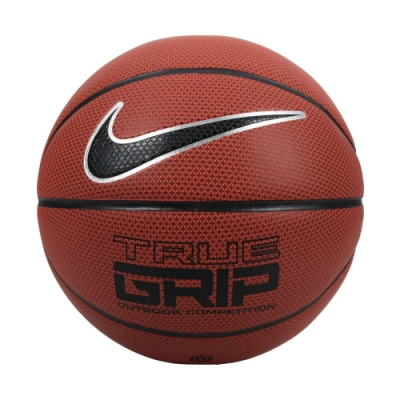 NIKE TRUE GRIP OT 8P 6號籃球-戶外 訓練 運動 NKI0785506 橘黑銀