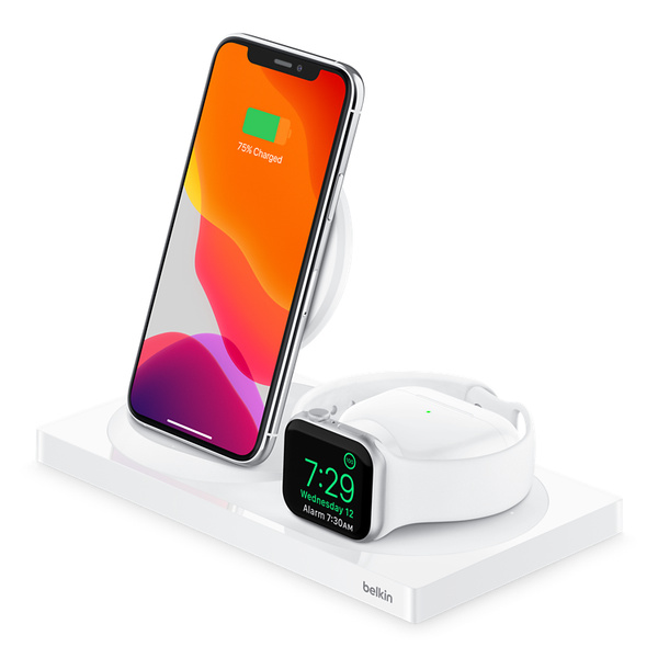 Belkin BOOST↑CHARGE™ 三合一無線充電器 (適用於 iPhone + Apple Watch AirPods) -