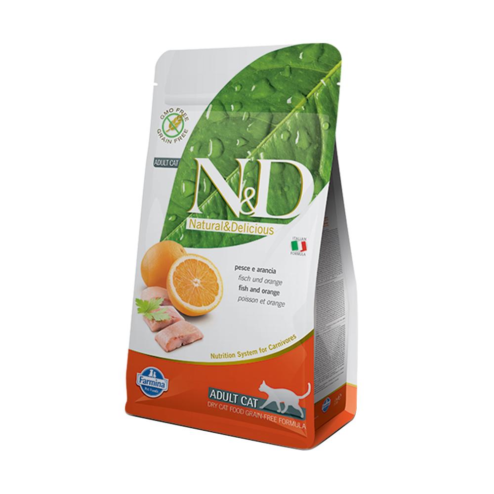 天然頂級無穀系列-全齡貓-鯡魚甜橙 (5kg)