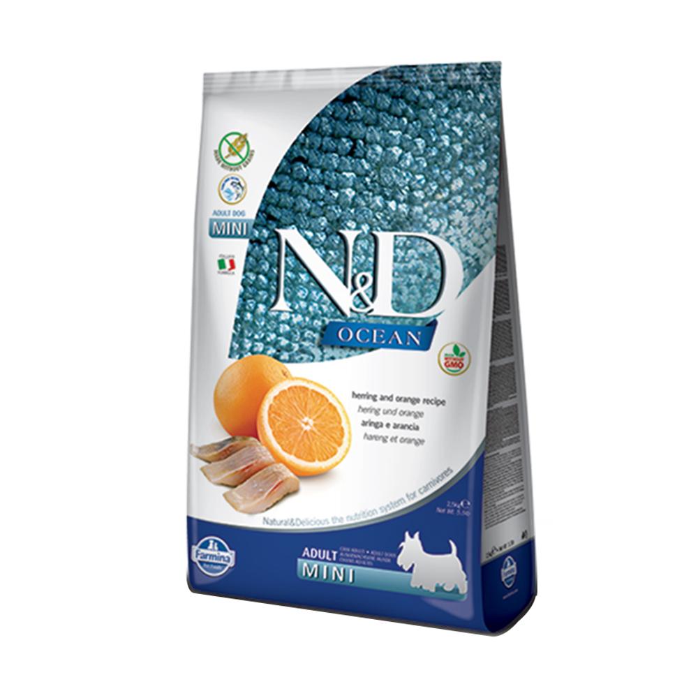 天然海洋系列-全齡犬-頂級無穀鯡魚甜橙-小顆粒 (2.5kg)