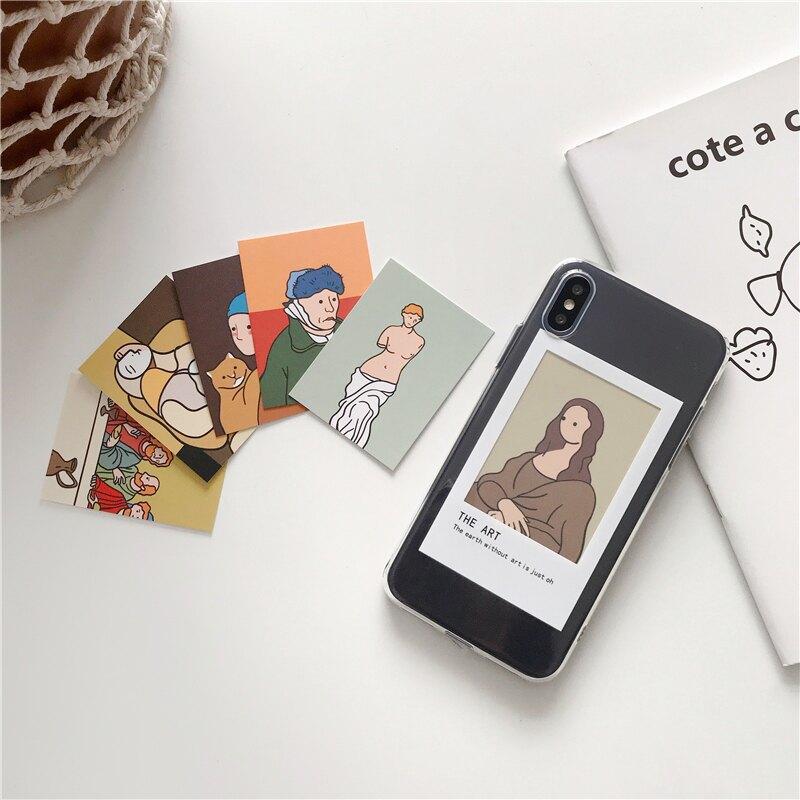 創意名畫 #C479 iPhone手機殼