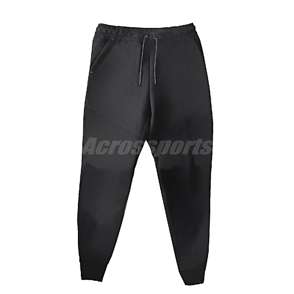 Nike 長褲 Tech Fleece Joggers 黑 男款 縮口褲 運動休閒 【ACS】 CU4496-010
