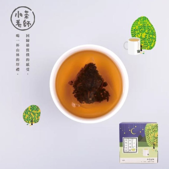 【津香茶業-小茶老師】一日時光/葉晚的休息-蜜香烏龍(12入)