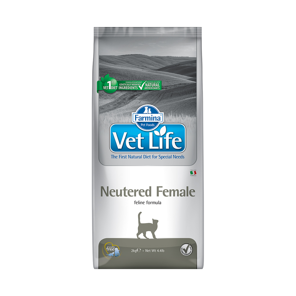 獸醫寵愛天然處方系列-絕育母貓多重保健配方 (2kg)